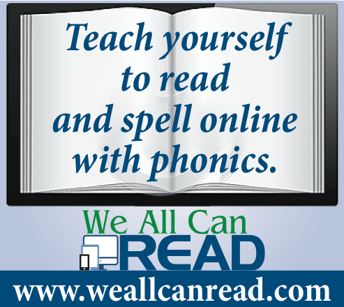 We All Can Read – Learn to read and spell anywhere: home ...